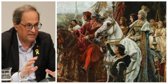 La mamarrachada de tener 17 modelos educativos: Canarias no quiere estudiar los ríos de España y Cataluña exige 'decapitar' a los Reyes Católicos