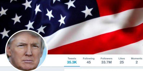 El barómetro tuitero de Donald Trump: Asi reacciona el mercado cuando actúa en redes sociales