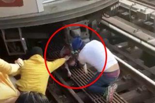 Un hispano se suicida arrojándose del metro con su hija de 5 años en brazos y la niña sobrevive