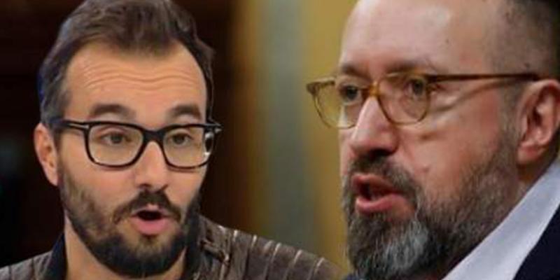"""Un valiente Juan Carlos Girauta le planta cara a un cobarde presentador de TV3: """"Te veo cuando quieras, cerdo"""""""