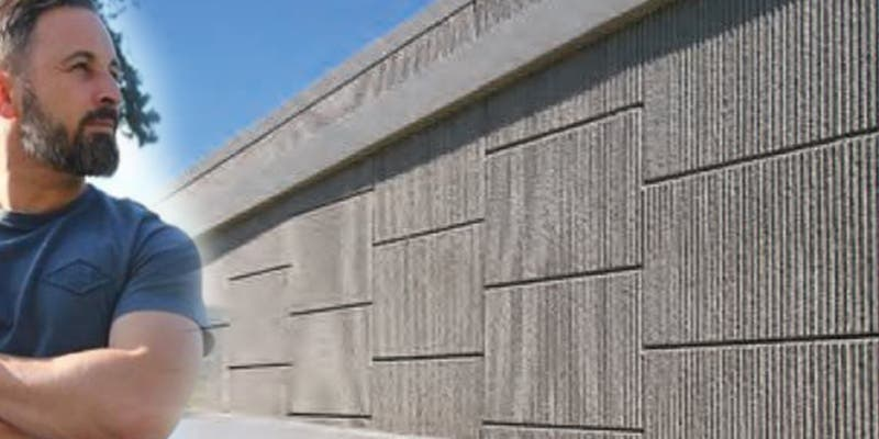 Vox plantea construir un muro de hormigón en la frontera con Marruecos financiado con la UE y los 'rojillos' se ponen 'muy nerviosos'