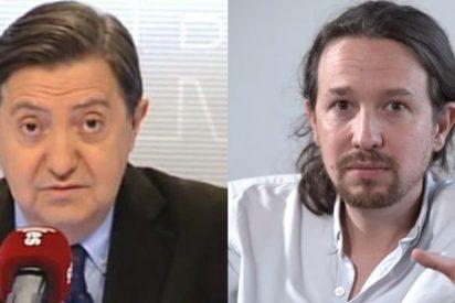 Losantos detona contra los socialistas que instan a Sánchez a formar gobierno con la 'basura' comunista