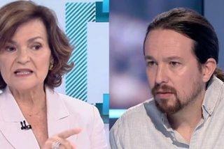 El último desprecio de Carmen Calvo a Iglesias que lo deja tirado como una colilla y sin posibilidad de levantarse