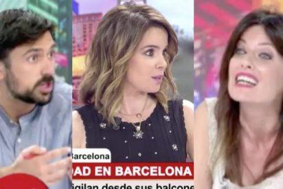 """Chaparro 'pasa' de conocer la nacionalidad de los que delinquen en Barcelona y corta a Cristina Seguí: """"¡No podemos criminalizar!"""""""