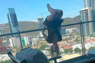 """Cae desde un quinto piso todo por hacerse un """"selfie"""" en pose de yoga"""