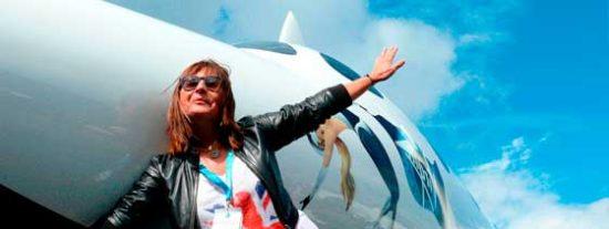 Ana Bru, primera mujer española que viajará al espacio