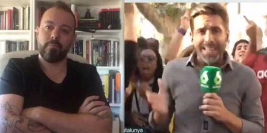 """El 'guardián de las esencias periodísticas' Antonio Maestre da la cara por Yélamo y las redes se la parten: """"¡Corporativista! ¡A los dos os paga laSexta!"""""""