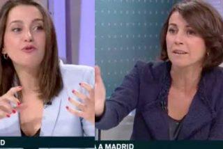 """Arrimadas se enfrenta a una esbirra 'indepe' de la TV3: """"¿Montapollos? Usted buscaba una excusa para llamarme a mí lo que me llama el independentismo"""""""