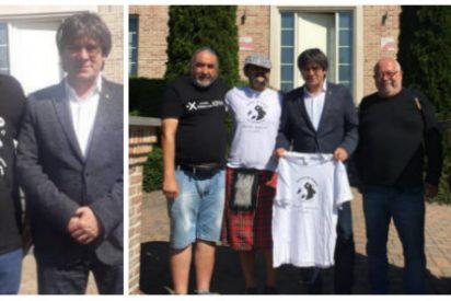 El nuevo y 'pacífico' aliado de 'Cocomocho': Puigdemont recibe a uno de los fundadores de la terrorista Terra Lliure