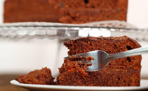 Bizcocho sin gluten de chocolate