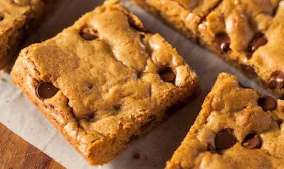 Blondies o brownies rubios