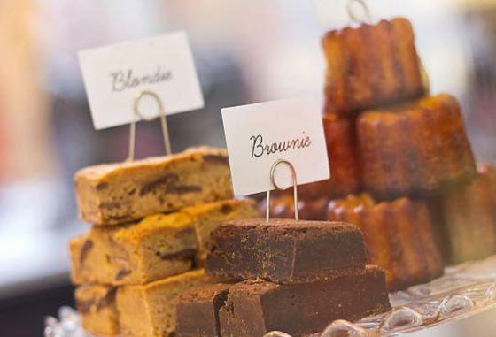 Blondies o brownies rubios