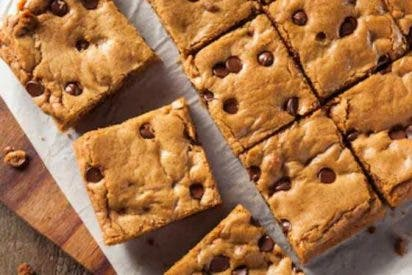 Blondies o brownies rubios, receta fácil