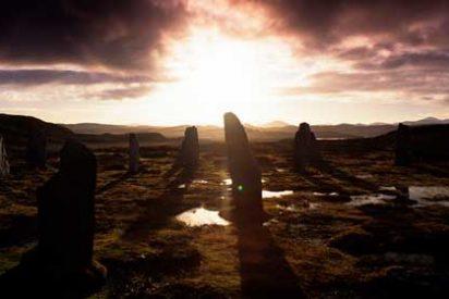 Las milenarias Callanish Stones