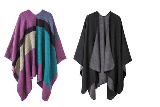Tendencias de moda otoño invierno 2020/20201 ponchos