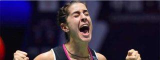 ¡Que aprendan en España! Los comentaristas ingleses se derriten en elogios ante la proeza lograda por Carolina Marín