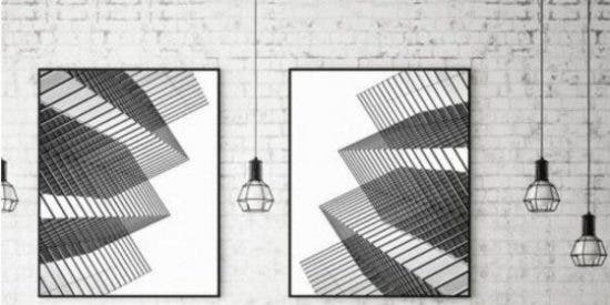 Cuadros minimalistas para decorar