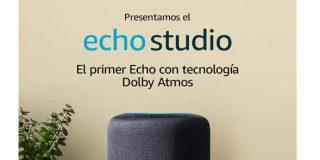 Echo Studio Alexa con sonido Dolby Atmos