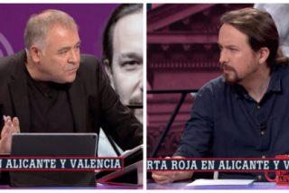 La tramposa táctica de Ferreras para persuadir a Podemos de hacer presidente a Sánchez: corta la entrevista a Pablo Iglesias para meter un mitin de Celaá