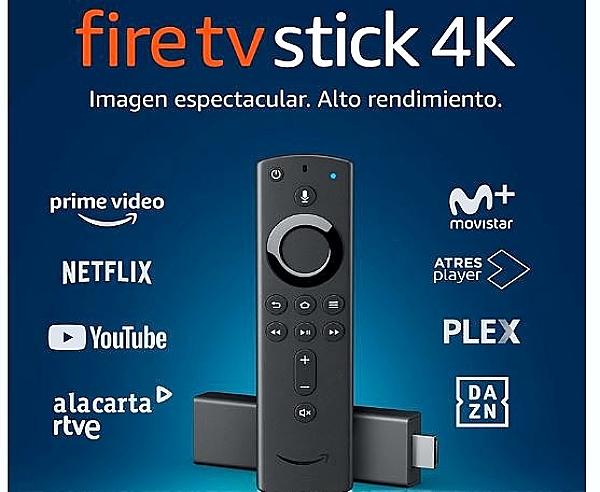 Nuevo Amazon Fire TV Stick 4K