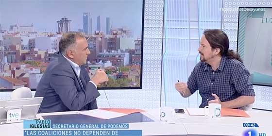 """Fortes toma partido en la guerra de la izquierda: 'El Lechero' se decanta por el PSOE y Pablo Iglesias le confiesa que está """"humillado"""""""