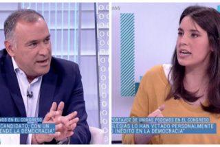 'El Lechero' Fortes interioriza las consignas del PSOE y culpa a la 'disco rayado' de Irene Montero de haber frustrado la investidura de 'cum fraude' Sánchez