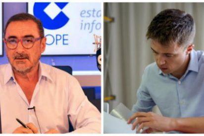 """Herrera no se traga la moderación de Errejón y saca a relucir toda su basura ideológica: """"Este es un enemigo de las libertades individuales"""""""