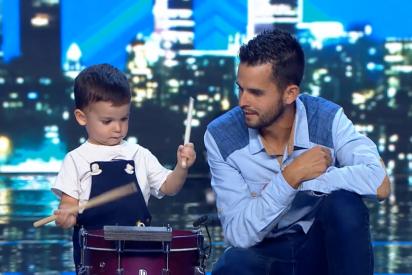 Este es el niño de dos años que está arrasando la Red por su actuación en 'Got Talent'