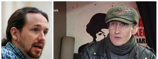 Pablo Iglesias enseña otra vez la 'patita' proetarra y en Twitter le cortan la coleta