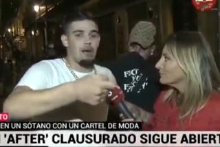La bochornosa conexión que demuestra por qué Telemadrid no la ve ni el Tato: puñaladas en un 'after' ilegal y risas de la reportera