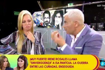"""Belén Esteban, a punto de tirar la toalla en 'Sálvame' por culpa del """"metemierda"""" Jorge Javier Vázquez"""