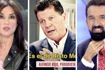 Alfonso Rojo y los lamentables comediantes de Cuatro.