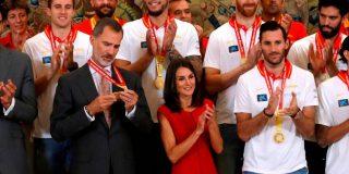 Doña Letizia celebra su cumpleaños con una sorpresa de la Selección de Baloncesto