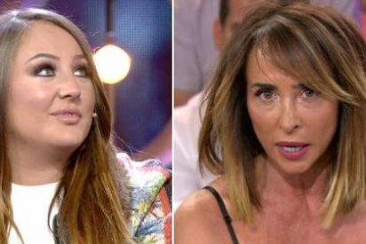 María Patiño da un golpe en la mesa y se carga todo el numerito de Rocío Flores en Telecinco