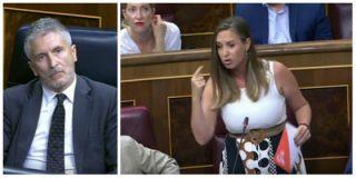 """Melisa Rodríguez (Ciudadanos) hace picadillo a Marlaska en una soberbia intervención: """"Sigo esperando que usted se vaya a su casa por indigno"""""""