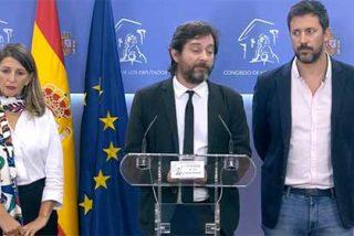"""¡De traca! Rafa Mayoral y otros ilustres podemitas, imputados por """"atentado contra la autoridad"""": rompieron vallas y empujaron a los policías"""