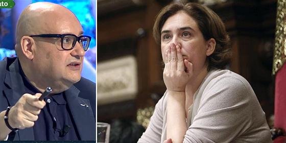 """El analista que desnuda a Colau como la culpable de que """"el crimen campe a sus anchas por Barcelona"""""""