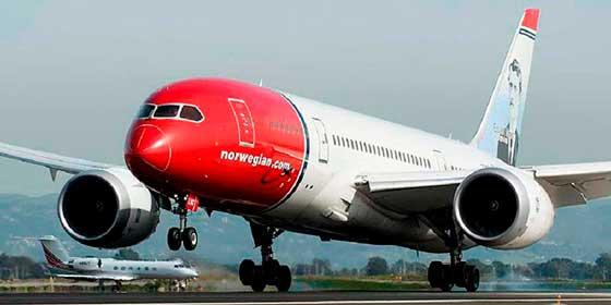 """Norwegian """"cae en picado"""": Suspende el 85 por ciento de sus vuelos por el Coronavirus"""