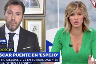 El mejor perro de presa de Sánchez se lanza desbocado contra Iglesias en TV