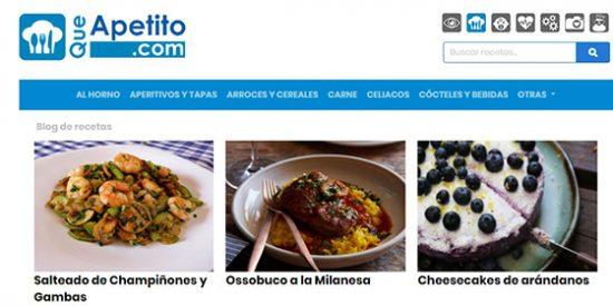 Recetas de cocina: QueApetito.com
