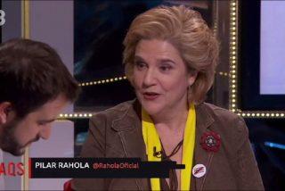 Pilar Rahola se queda compuesta y sin independencia ni televisión: despedida de TV3