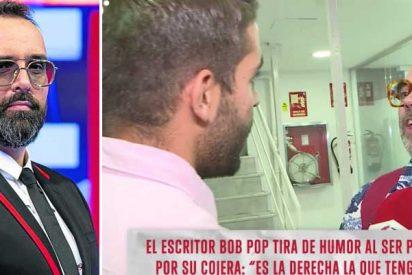 """El miserable comentario de un reportero de Risto Mejide a Bob Pop, enfermo de esclerosis múltiple: """"Te veo casi con la misma salud que la izquierda española"""""""