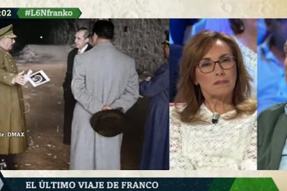 Eduardo Inda pone en su sitio a la desmemoriada Angélica Rubio con un dato contundente sobre Franco