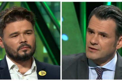 Iñaki López está al turrón y 'compra' sin rechistar la gran mentira de Rufián