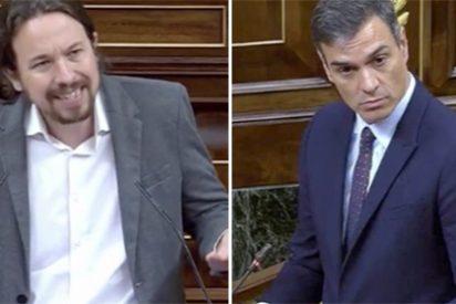 Sanchez e Iglesias se odian y ya todos lo hemos visto hasta en el Congreso con este duro cruce de palabras