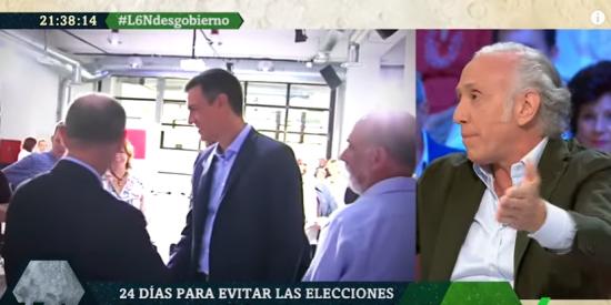 Inda siembra el pánico en Podemos destapando las maquiavélicas intenciones de Sánchez