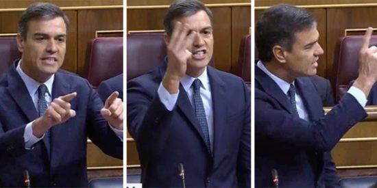 El último discurso de Sánchez en el Congreso se ahoga en las explosivas carcajadas desde la tribuna