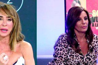 El mosqueo sin precedentes de Sonia Monroy por un comentario de María Patiño en 'Sábado Deluxe'