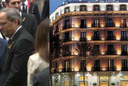 """El boicot de NH Hoteles al patriota español que reventó la ofrenda floral de Torra en la Diada les saldrá caro en España: """"Tomamos nota, no volveremos a ir a un hotel vuestro"""""""