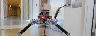 """El """"robot araña"""" ALPHRED2 muestra sus increÍbles capacidades de movimiento y estabilidad"""